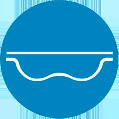 Geobubble outline icon