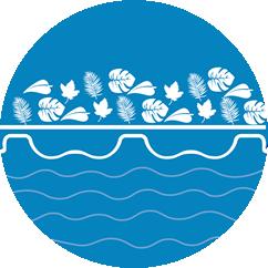 debris prevention icon geobubble logo colours